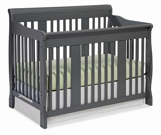 历史新低!Storkcraft Tuscany 四合一多功能成长型婴儿床5.7折 199.99加元包邮!