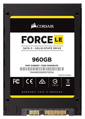 手慢无!历史新低!Corsair 海盗船 Force Series LE SSD 960GB 超大容量 固态硬盘4.7折 226.99加元包邮!会员专享!