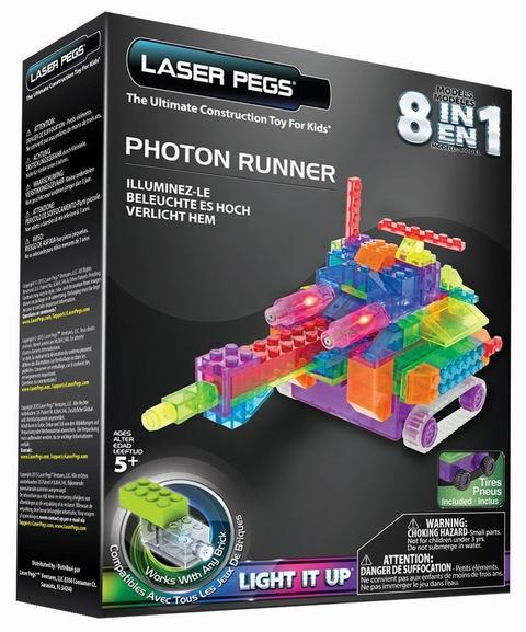 白菜价!历史新低!Laser Pegs RN2180B 八合一 发光积木3.1折 12.25加元清仓!