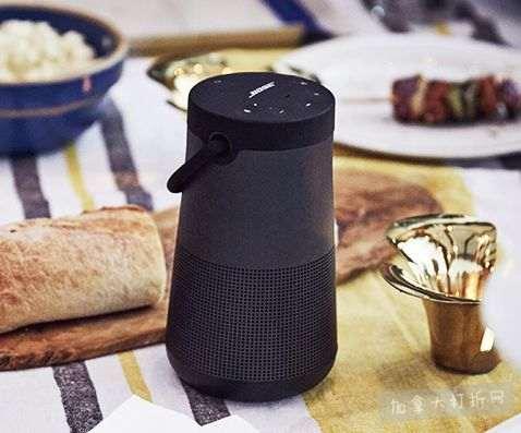 历史新低!新一代 Bose SoundLink Revolve+ 360°无线蓝牙音箱/音响7.8折 289加元包邮!两色可选!