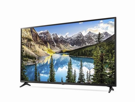 历史新低!LG 60UJ6300 60寸4K超高清智能电视5.8折 999.99加元包邮!
