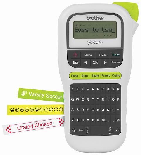 Brother P-touch 普贴趣系列 PTH110 手持式标签打印机 14.99加元包邮!仅限今日!