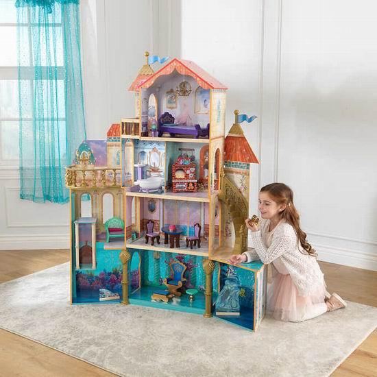 KidKraft 迪斯尼 阿里尔海底王国 1.57米超高 玩具娃娃屋 99.97加元清仓并包邮!