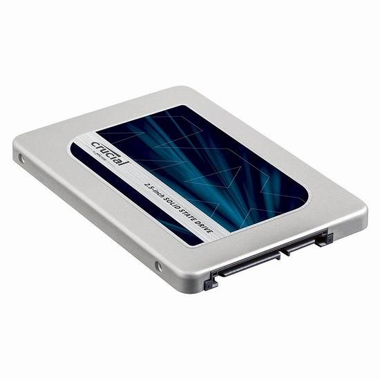 历史最低价!Crucial 英睿达 MX300 3D NAND 2TB超大容量 2.5英寸固态硬盘 557.87加元包邮!