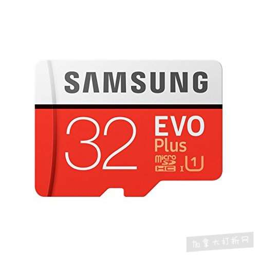 历史新低!Samsung 三星 EVO Plus MicroSD 32GB闪存卡 15.29加元!
