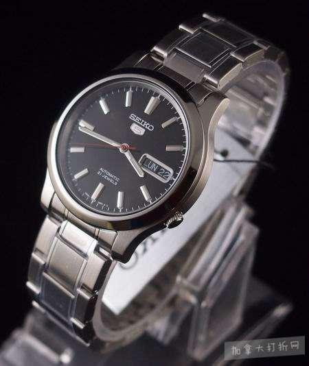 近史低!Seiko 精工5号 SNK795 男士自动机械腕表/手表3.4折 64.94加元包邮!