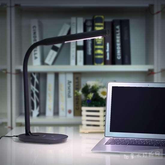 历史新低!Aglaia 7瓦 LED可调光护眼台灯 22.99加元!