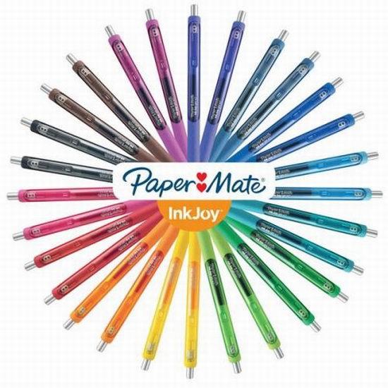 精选Paper Mate 彩色凝胶笔、马克笔4折 2.12加元起特卖!