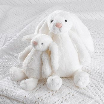 最火的毛绒玩具!正价Jellycat 可爱长耳朵兔子毛绒公仔 8.5折优惠!