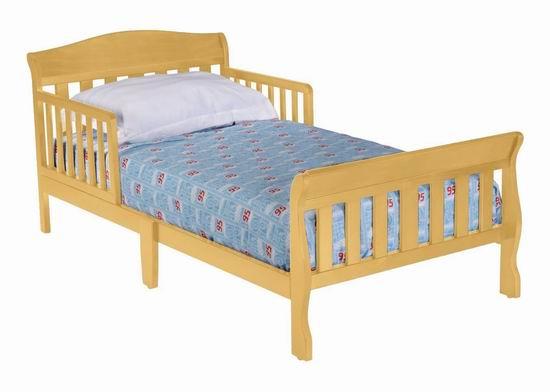 历史新低!Delta Children 7184-260 Canton 木质儿童床6.9折 68.99加元包邮!