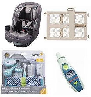 精选37款 Safety 1st 婴幼儿汽车安全座椅、门栏、护理产品等5折起!