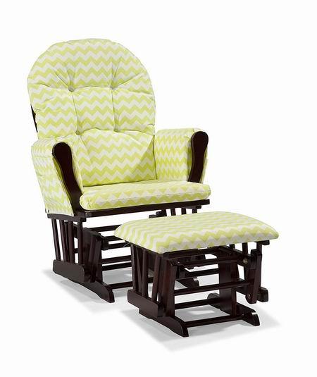 历史新低!Storkcraft Hoop 实木哺乳椅/育婴椅/软垫躺椅6.7折 188.98加元包邮!