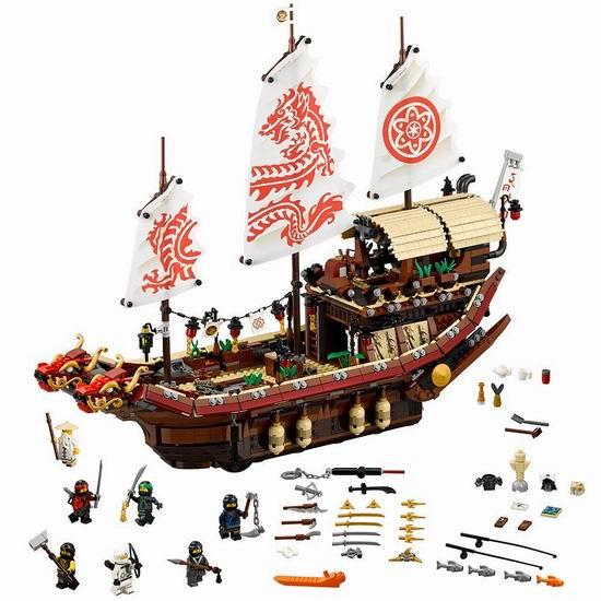 LEGO 乐高 70618 Ninjago 幻影忍者 移动基地:命运赏赐号(2295pcs)6折 119.99加元包邮!