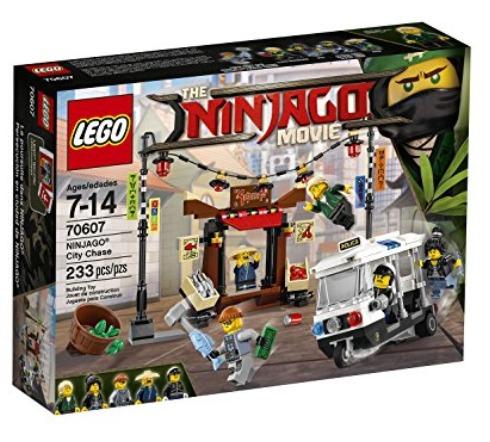 LEGO 乐高 70607 幻影忍者城市追逐战 19.97加元,原价 24.99加元