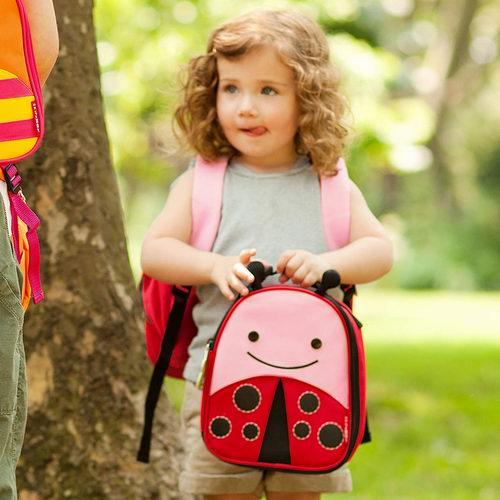 折扣升级!历史新低!Skip Hop Zoo 超级可爱儿童卡通午餐保温包5折 9.99加元!多色可选!
