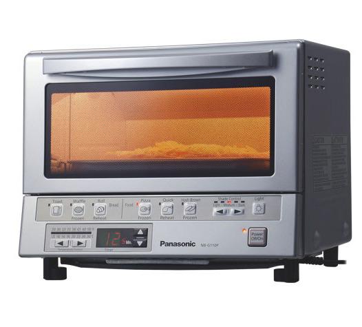 加热效率提升40%!Panasonic 松下 NBG110P 双红外加热电烤箱 119.99加元,原价 159.99加元,包邮