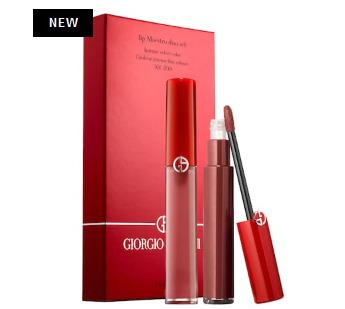 上新Giorgio Armani  阿玛尼 Lip Maestro红管唇釉2件套 75加元(价值 88加元)!501断货王,网红界的杠把子
