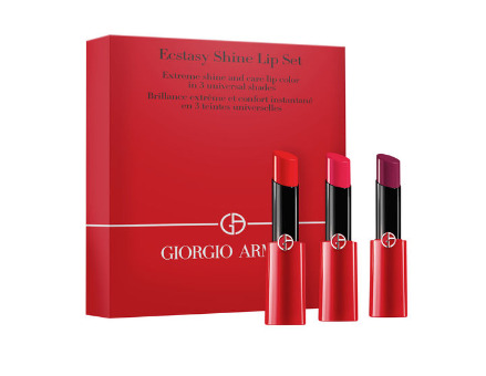 Giorgio Armani 阿玛尼 细管唇膏 3支套 98加元+送5个中样!
