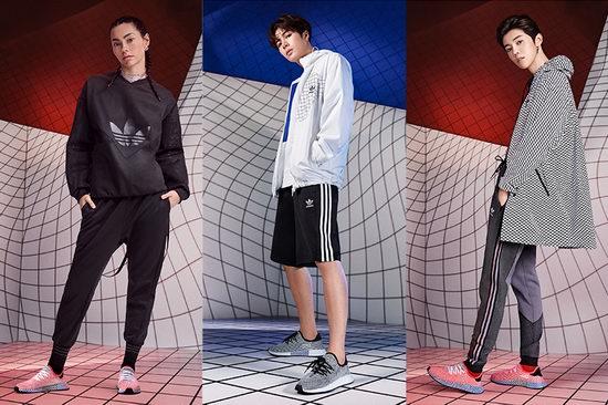 折扣升级!抢鹿晗王嘉尔同款!新款 adidas Originals Deerupt 成人儿童运动鞋3.6折 36-45加元清仓!23色可选!部分款码齐!