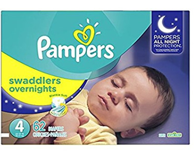Pampers Swaddlers 夜用版婴儿纸尿裤 17.82加元起特卖,原价 29.99加元