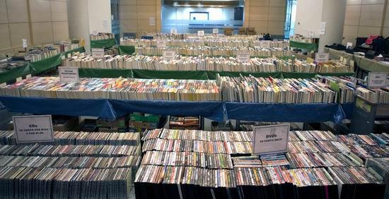 多伦多图书馆 年度清仓,全场旧书、CD、DVD等仅售1-5毛!仅限3月15日-17日!