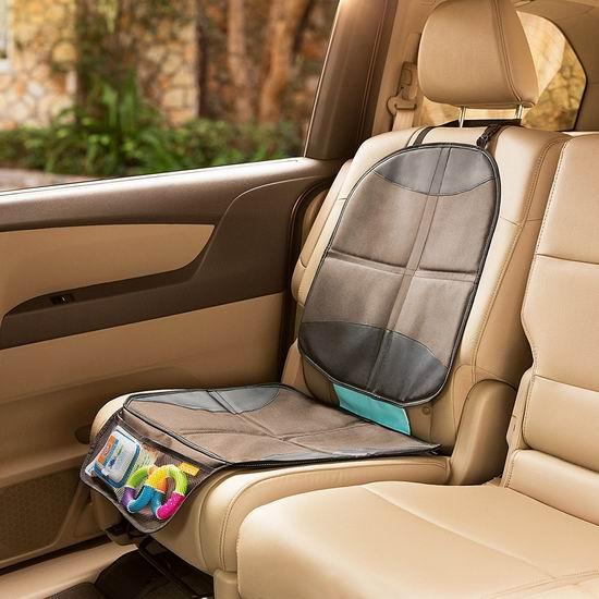 历史新低!BRICA 61220 汽车安全座椅保护垫4折 14.97加元!