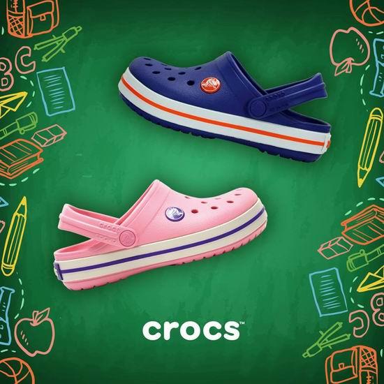 Crocs 卡洛驰洞洞鞋 复活节大促!特卖区鞋靴2.8折起+最高额外7折!