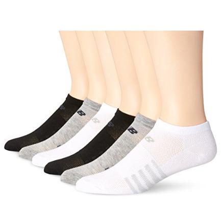 New Balance Lifestyle女士百搭低腰袜6双 13.78加元(2款),原价 19.99加元