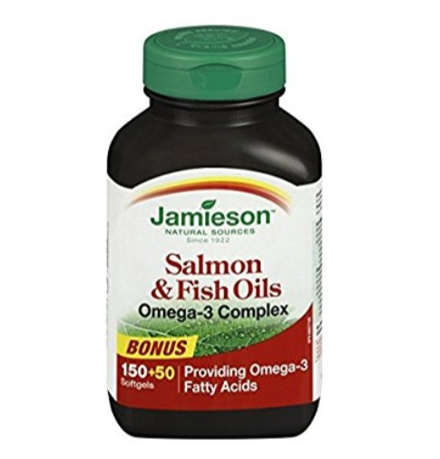 手慢无!历史新低!Jamieson 健美生 Omega 3深海鱼油(200粒 )4.6折 6.64加元!
