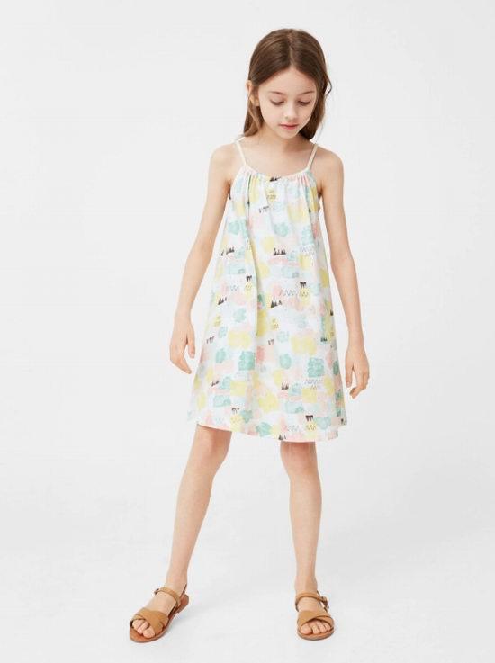 Mango超可爱儿童连衣裙、T恤、配饰4.99加元起特卖!