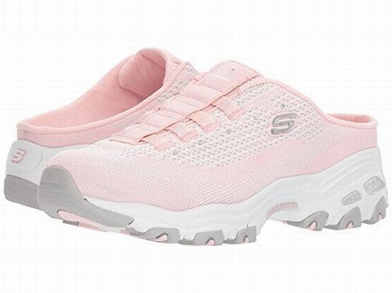 Skechers 斯凯奇 D'LITES女款休闲运动拖鞋 59.99加元(2色),原价 90加元,包邮