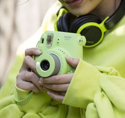 历史新低!Fujifilm 富士 Instax Mini 8 柠檬绿 拍立得相机 59.01加元包邮!