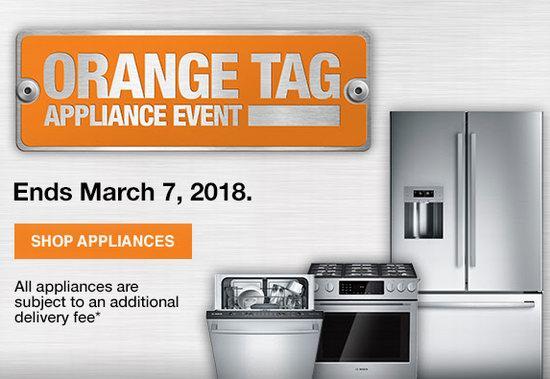 Home Depot Orange Tag Event