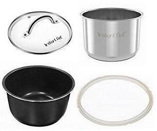 精选4款 Instant Pot 电压力锅配套内胆、锅盖、密封垫圈3.8折起!低至6.99加元!