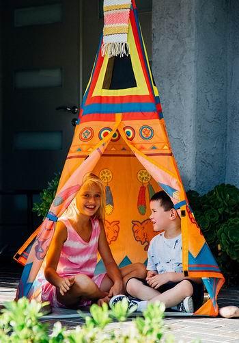 历史新低! Pacific Play Tents Sante Fe Giant 印第安风格儿童帐篷3.5折 32.45加元!