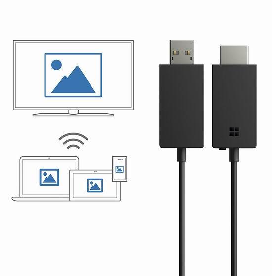 金盒头条:历史新低!Microsoft 微软 Wireless Display V2 无线显示适配器5.7折 39.95加元包邮!