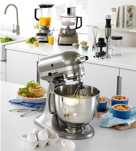今日闪购:精选 Philips、Kitchenaid、Breville、T-Fal 等品牌厨房小家电5折起!额外再打8.5折!