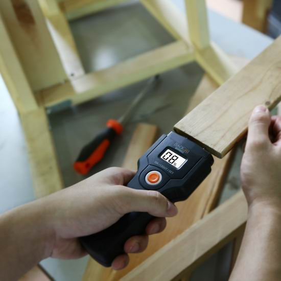 超级白菜!Tacklife MWM02 快速木材水份测定仪 8.99加元限量特卖!