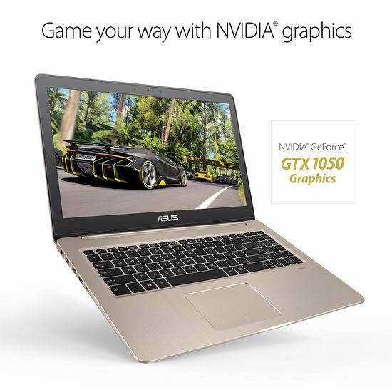 历史新低!Asus 华硕 M580VD-EB54 VivoBook 15.6寸超薄笔记本电脑(8GB, 256GB SSD, GeForce GTX 1050) 992.99加元包邮!