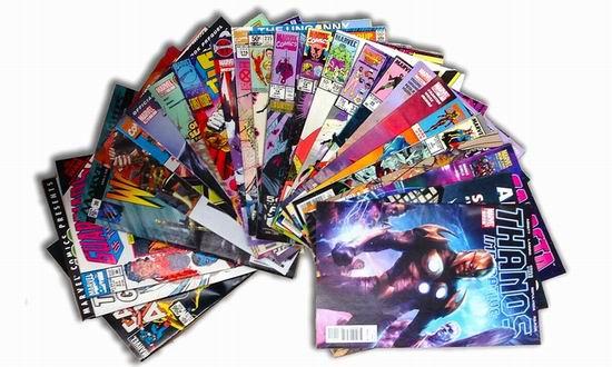 精选大量 Marvel 漫威漫画Kindle版电子书免费购买!
