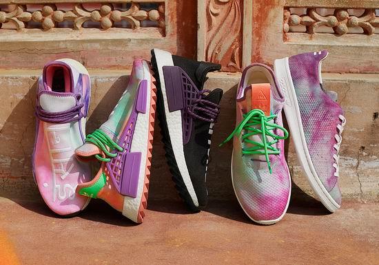 adidas Originals x Pharrell Williams 2018春夏HU系列 全新联名版运动鞋、运动服饰今天10点开抢!