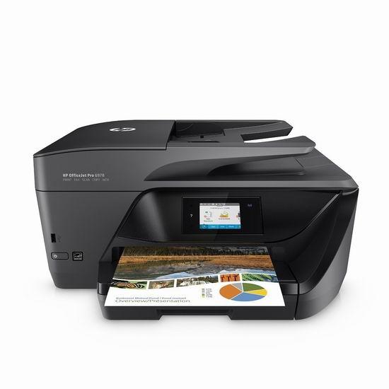 历史最低价!HP 惠普 OfficeJet Pro 6978 多功能无线彩色喷墨打印机3.7折 69.99加元包邮!