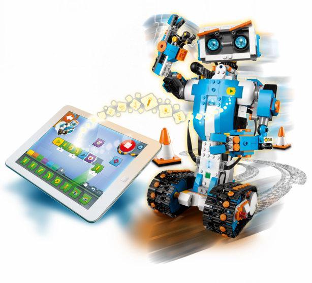超火爆款!Lego 乐高 17101 BOOST 五合一可编程 智能机器人6折 119.99加元包邮!