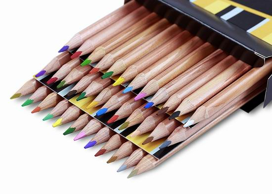 历史新低!Solabela 三角雪松木彩色铅笔36件套5折 7加元!