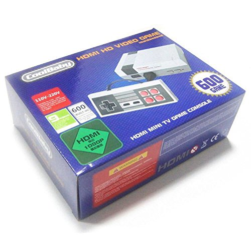 重燃儿时经典!DYTesa 600合1 双手柄 仿任天堂 复古游戏机 37.86加元限量特卖并包邮!