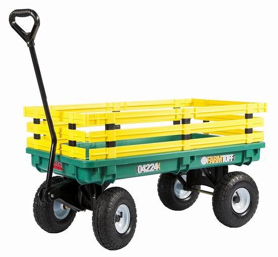 历史最低价!Farm Tuff 04224 儿童四轮拖车4.3折 119.99加元包邮!