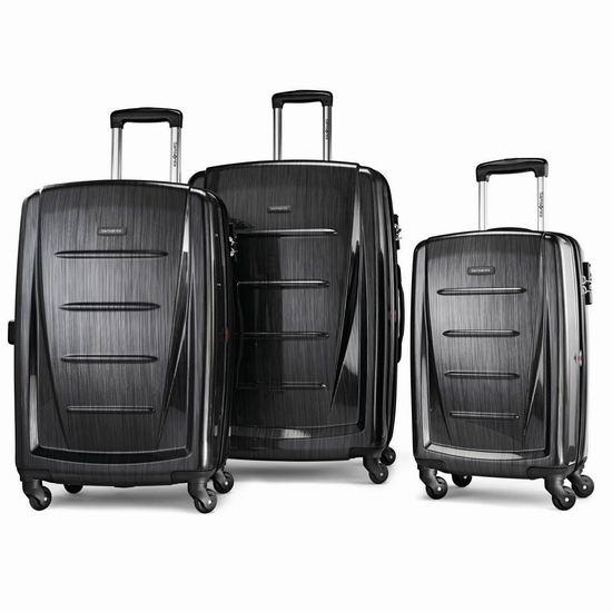 Samsonite 新秀丽 Winfield 2 全PC 时尚硬壳拉杆行李箱3件套2.8折  369.58加元包邮!