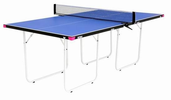 历史新低!Butterfly 日本蝴蝶 Junior 可折叠乒乓球桌5.9折 217.54加元包邮!