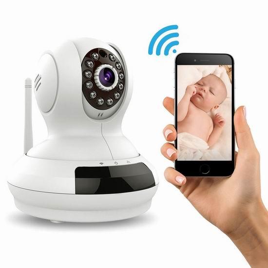 Spy Tec Cirrus-i6 无线Wi-Fi安全监控摄像头6.8折 38.2加元限量特卖并包邮!
