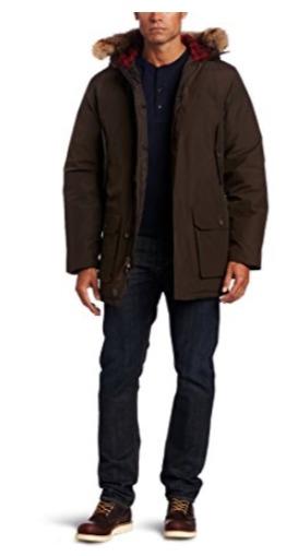 白菜价!Woolrich Arctic Parka 极地防寒 狼毛鸭绒 男式羽绒服2.8折 145.16加元起清仓并包邮!